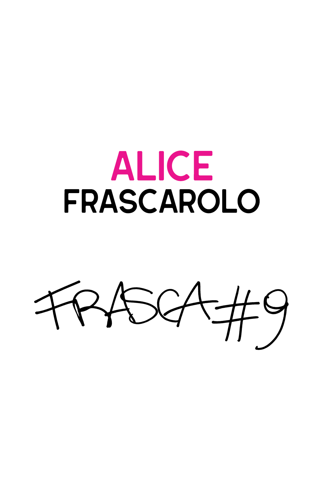 9 – Alice Frascarolo